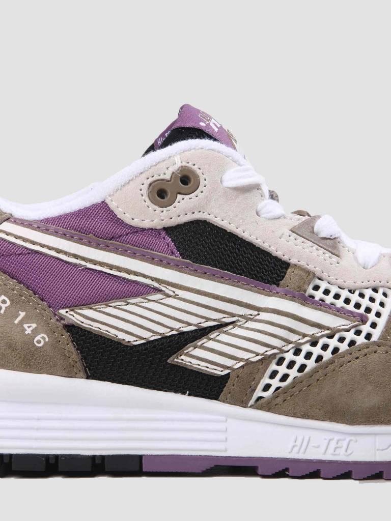 Hi-Tec Hi-Tec HTS Badwater 146 ABC Suede Tan Black Purple 6780-041
