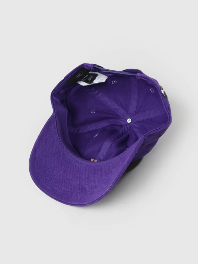 Obey Obey Cutty 6 Panel Snapback Purple 100580074 Pur