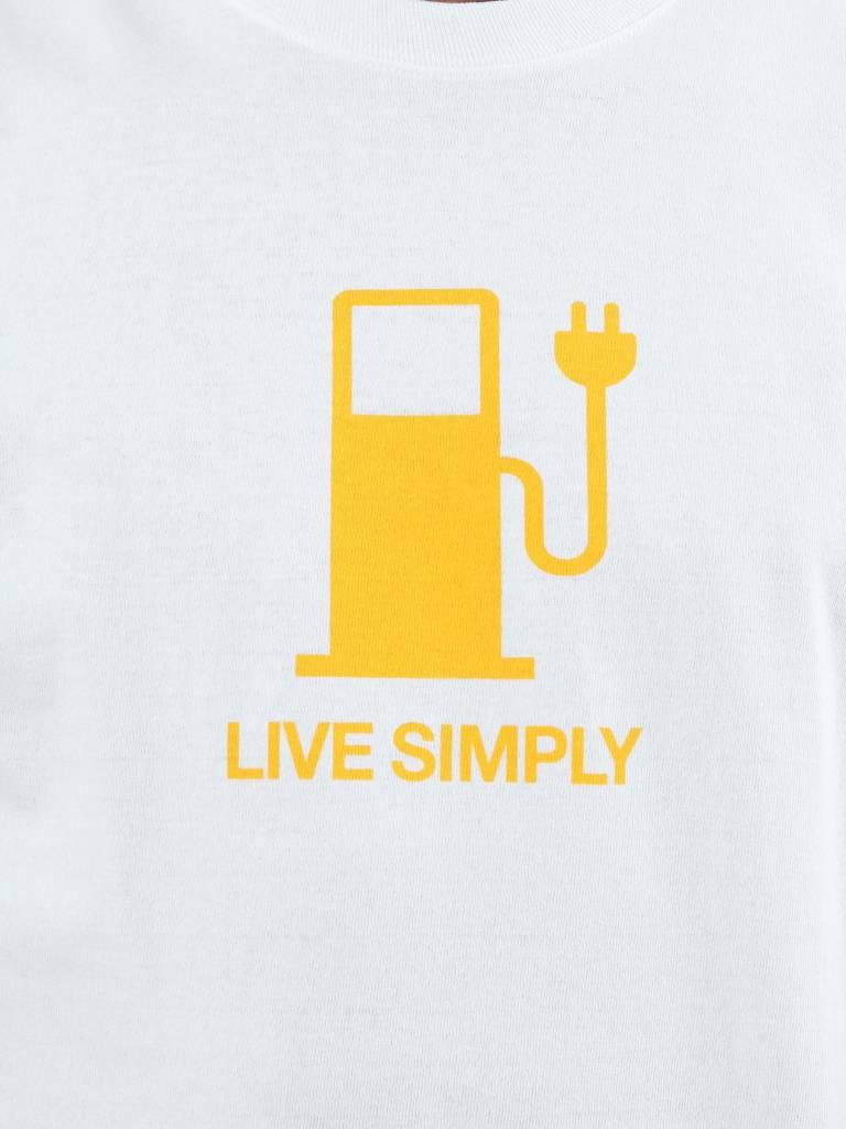 Patagonia Patagonia Live Simply Power Responsibili T-Shirt White 39171
