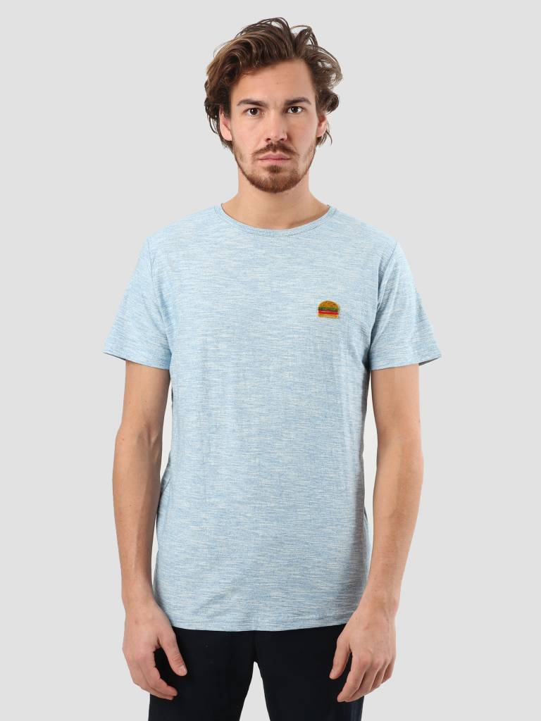 RVLT RVLT Structure 3D T-Shirt Bright Blue 1918 Bur