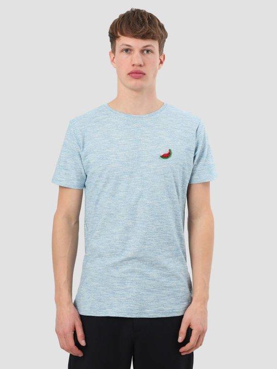 RVLT Structure 3D T-Shirt Bright Blue 1918 Wat