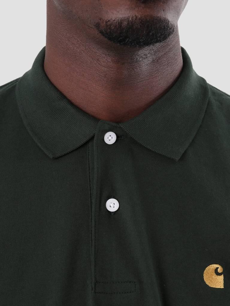 Carhartt Carhartt Chase Polo Longsleeve Loden Gold I026394-88590