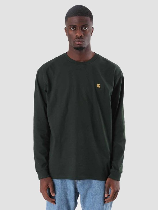 Carhartt WIP Chase Longsleeve Loden Gold I026392-88590