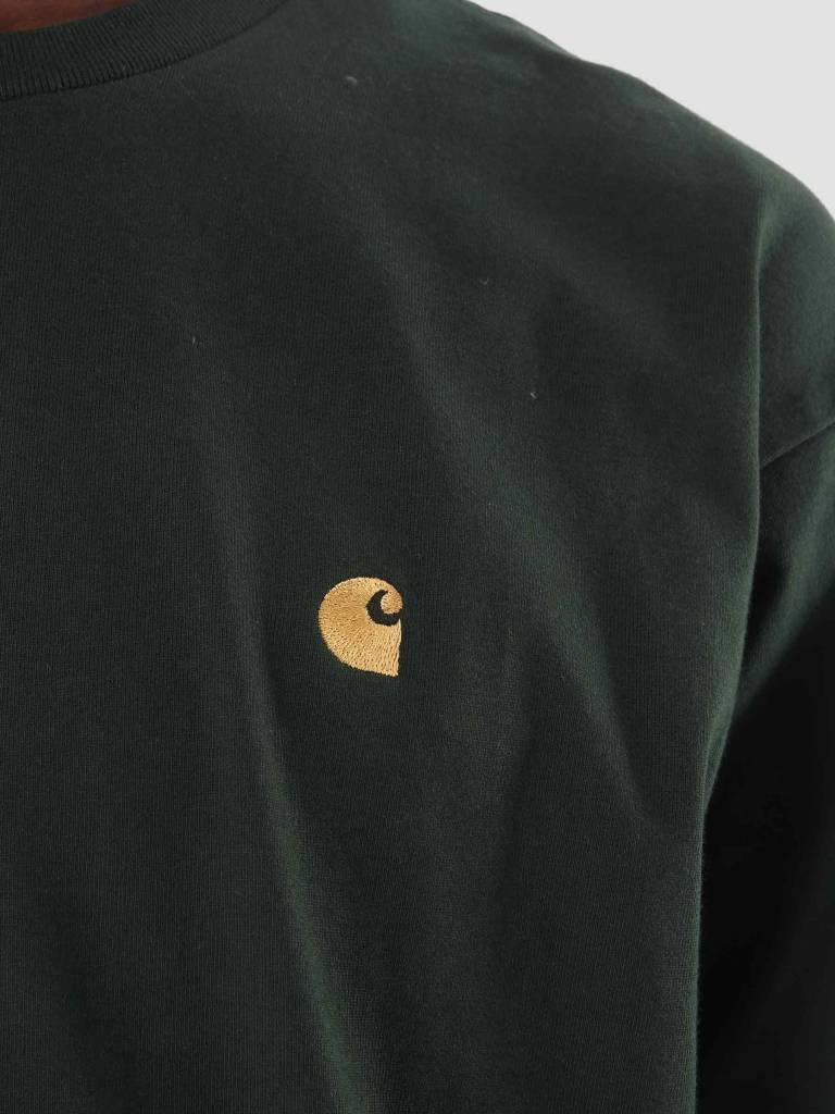 Carhartt WIP Carhartt WIP Chase Longsleeve Loden Gold I026392-88590