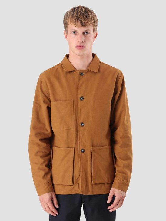Native North Canvas Jacket Rust NNAW18043R