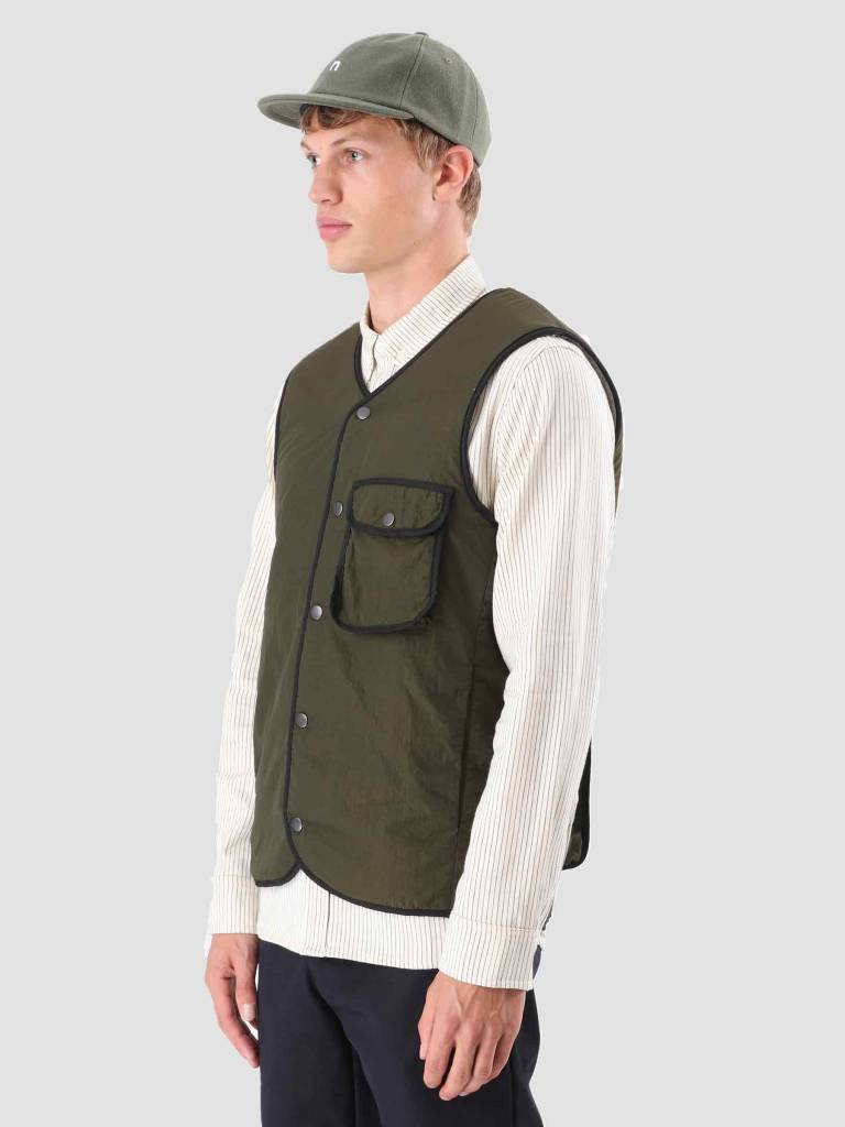 Native North Native North Teddy Pocket Vest Green NNAW18014G