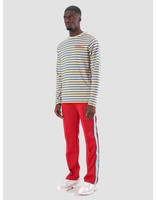 Daily Paper Daily Paper Daso Longsleeve Yellow Cobalt White Stripe 18F1TL18