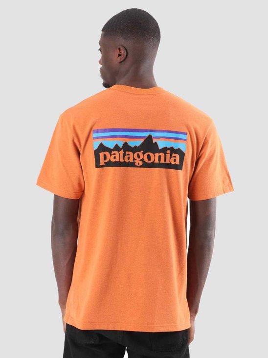 Patagonia P-6 Logo Responsibili T-Shirt Marigold 39174