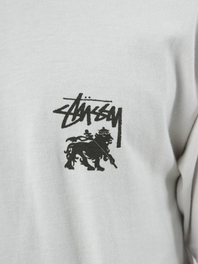 Stussy Stussy Lion Shield Tee Stone 1904188