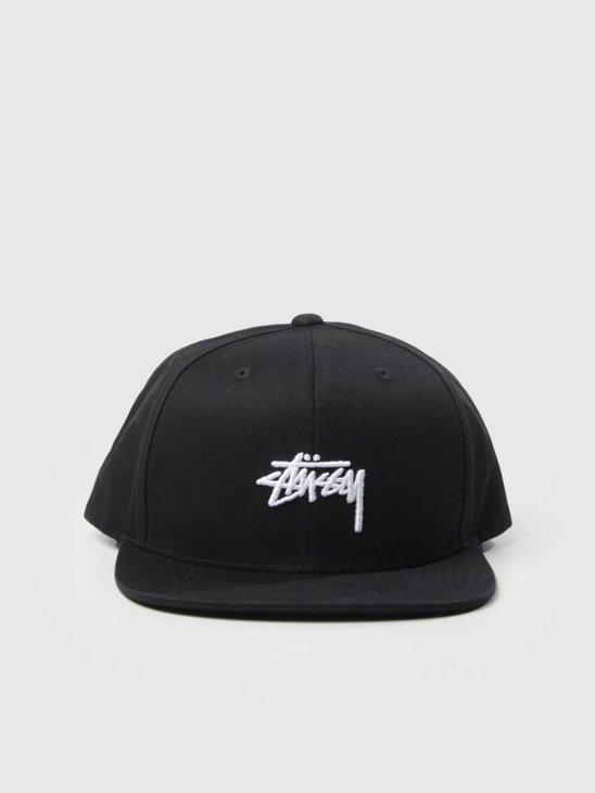 Stussy Stock Sp18 Cap Black 131780
