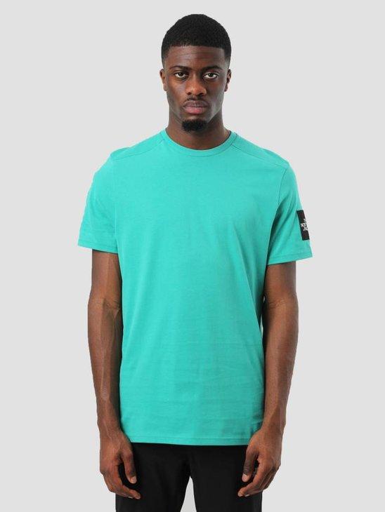 The North Face Fine 2 T-Shirt Porcelain Green T93BP7ZCV