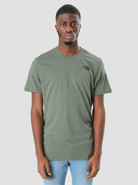 The North Face Red Box T-Shirt Thyme T92TX2NYC