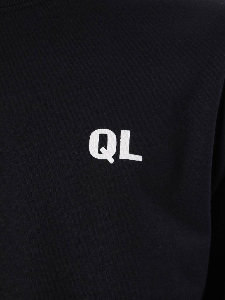 The Quiet Life The Quiet Life Rose Long Sleeve T-shirt Black 18SPD1-1161