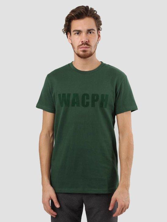 WEARECPH Gabbiadini O-N T-Shirt 890 Dark Green W18112006