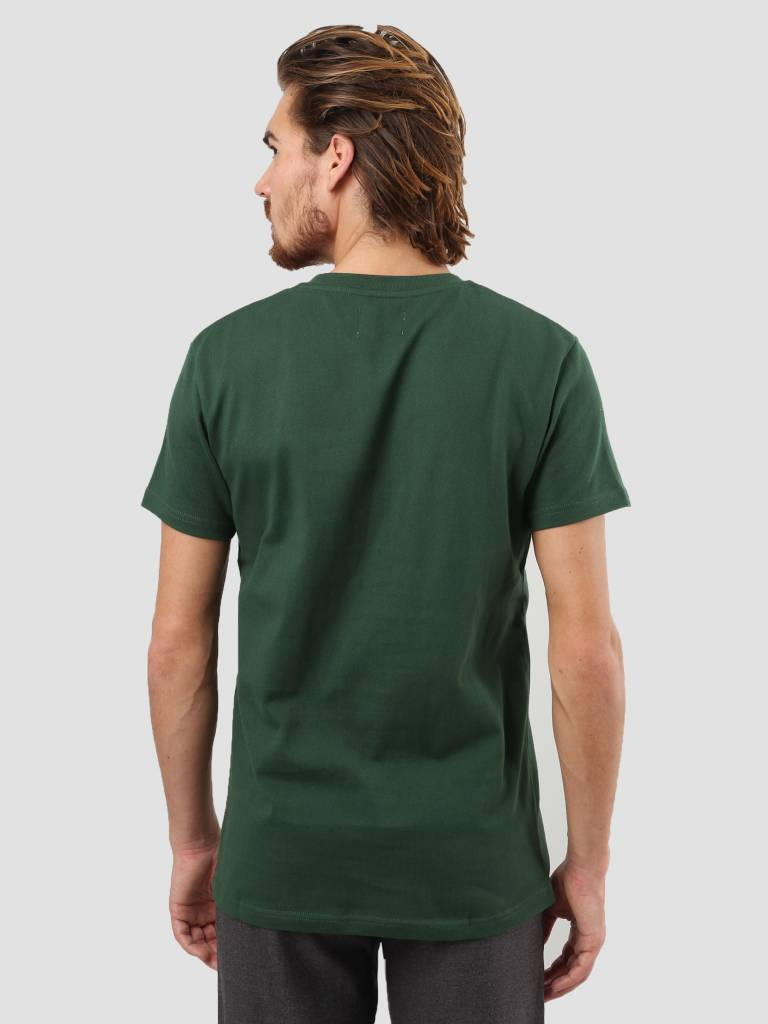 WEARECPH WEARECPH Gabbiadini O-N T-Shirt 890 Dark Green W18112006