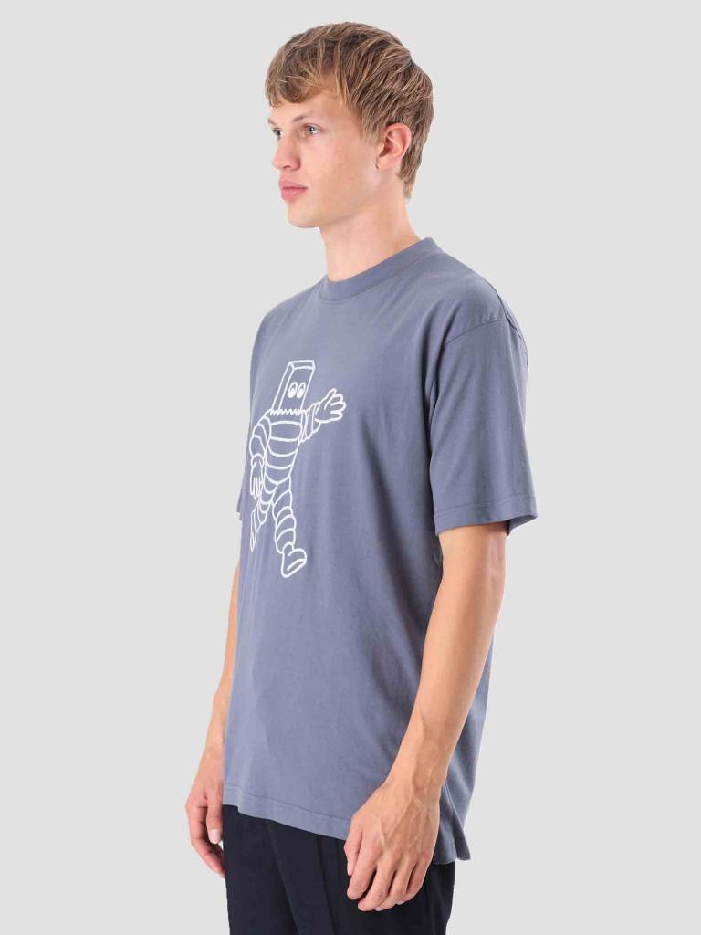 Wemoto Wemoto Run T-Shirt Faded Blue 121.238-477