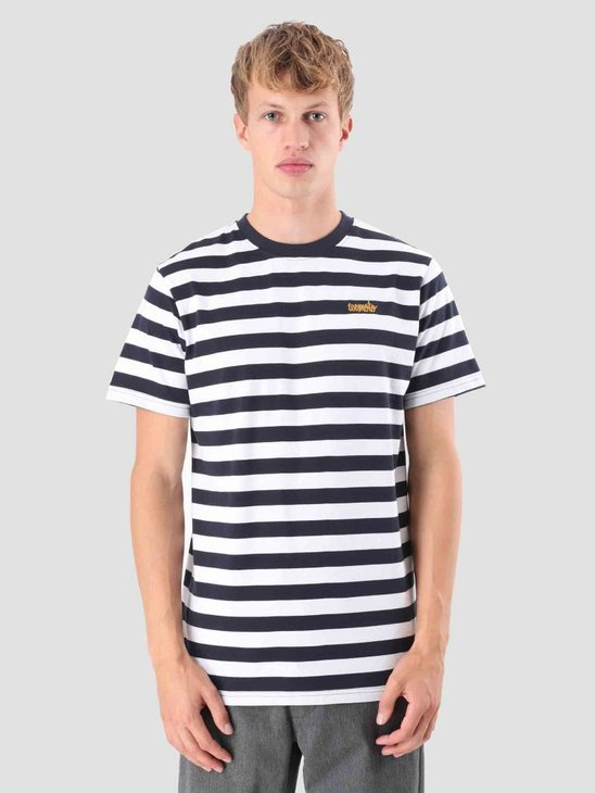 Wemoto Script T-Shirt Navyblue-White 121.239-466