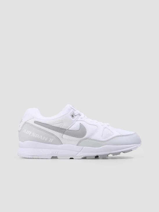 Nike Air Span II Shoe White Wolf Grey-Pure Platinum AH8047-105