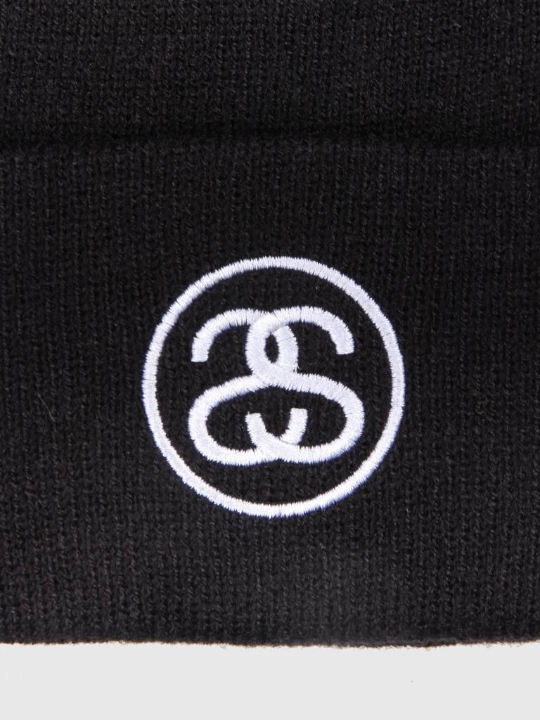 Stussy Stussy SS-Link Cuff Beanie Black 0001
