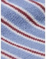 Stussy Stussy Striped Fa18 Cuff Beanie Blue 0801