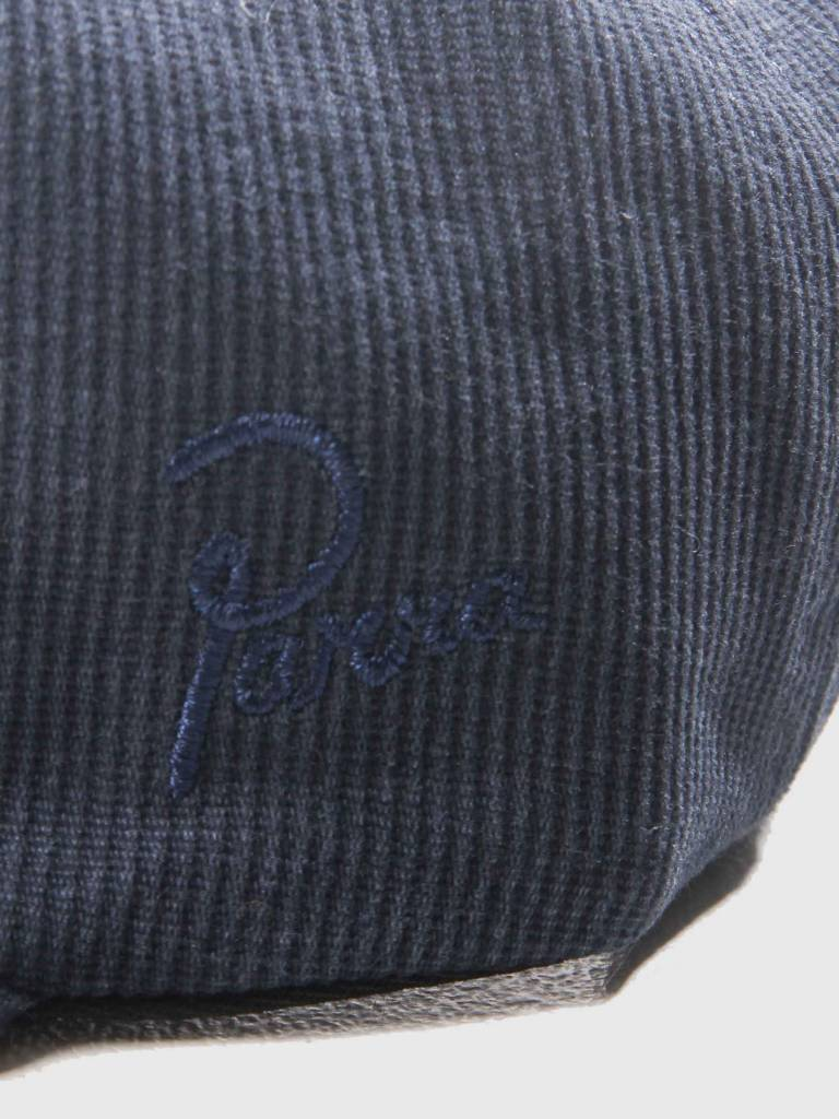By Parra By Parra Painterly Script 6 Panel Hat Navy Blue 41810