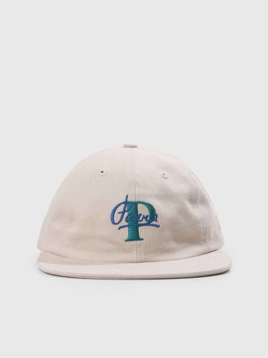 By Parra Painterly Script 6 Panel Hat Stone 41820