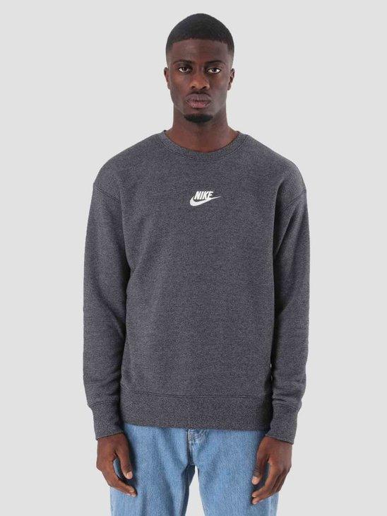 Nike Sportswear Heritage Black Htr Sail 928427-010