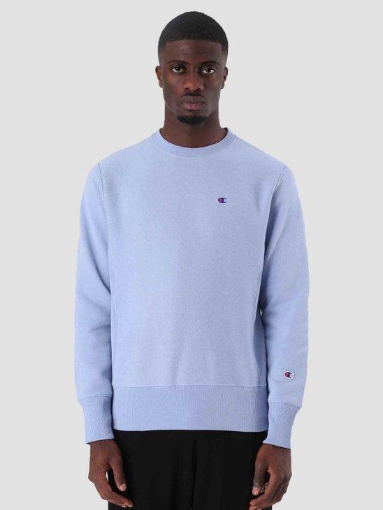 Champion Crewneck Sweatshirt Light Blue LLU VS030 212572