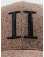 Les Deux Les Deux Wool ll Baseball Cap Light Brown Black LDM702013
