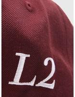 Les Deux Les Deux Baseball Cap II Bordeaux LDM702002