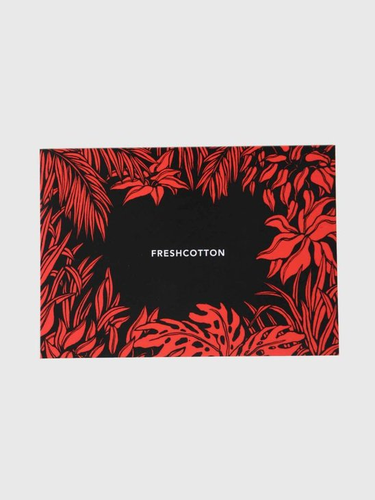 FreshCotton Giftcard 25 Euro Red