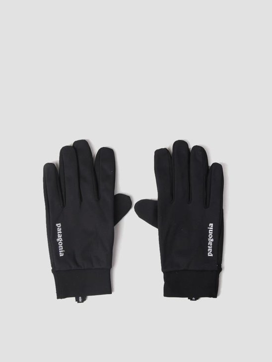 Patagonia Wind Shield Gloves Black 33336