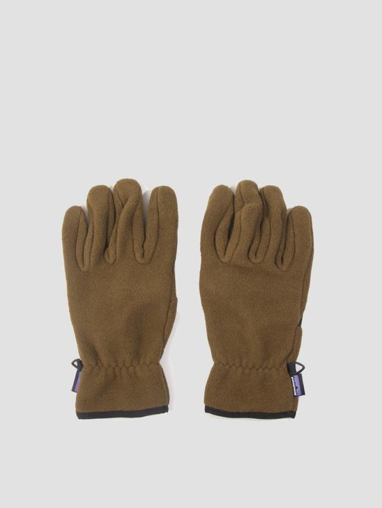 Patagonia Synch Gloves Sediment 22400