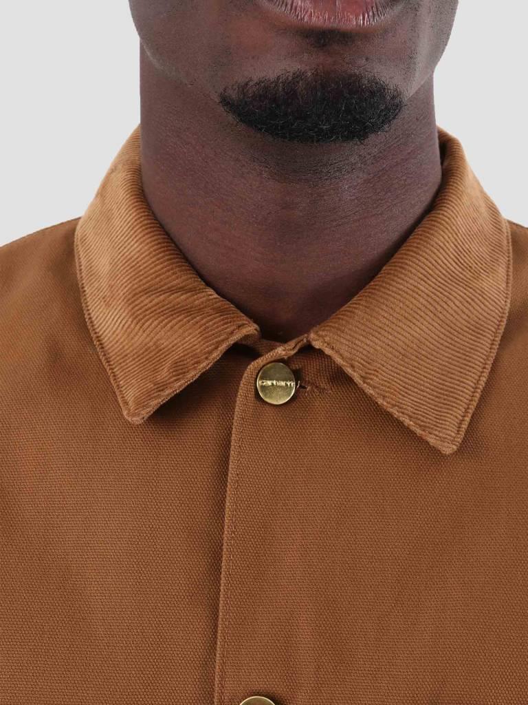 Carhartt Carhartt Michigan Coat Rigid Hamilton Brown I015261-HZ00