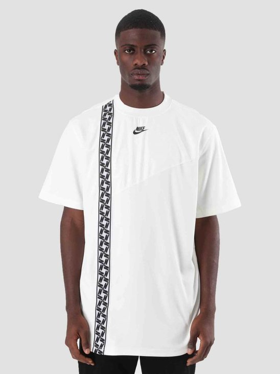 Nike Nsw Ss Top Taped Poly Sail Black AR4934-133