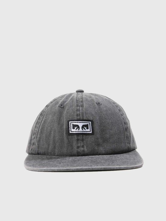 Obey Culver 6 Panel Snapback Black 100580156