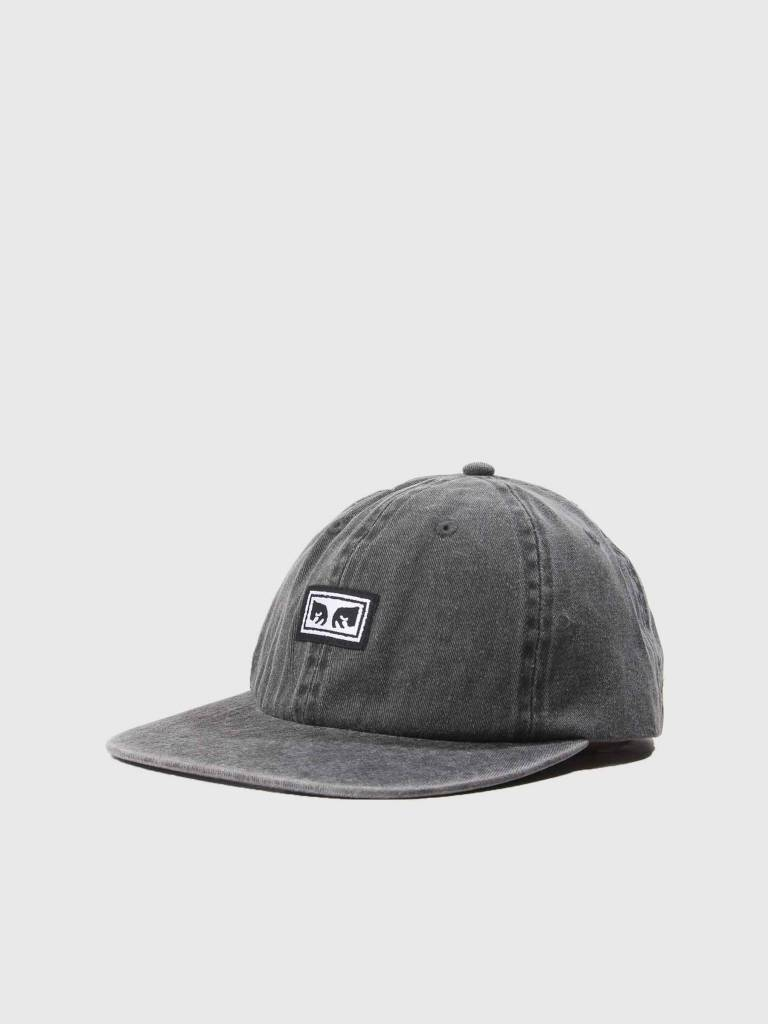 Obey Obey Culver 6 Panel Snapback Black 100580156