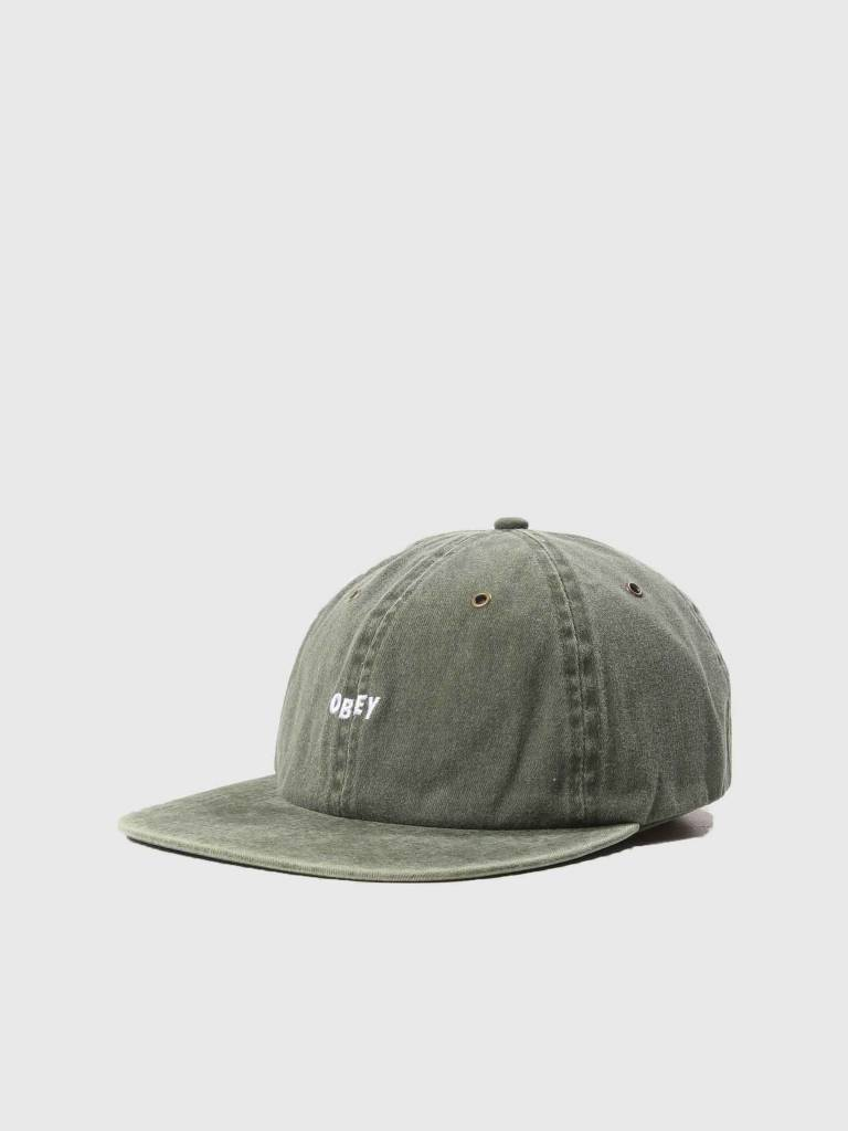 Obey Obey Hadley 6 Panel Hat Army 100580158