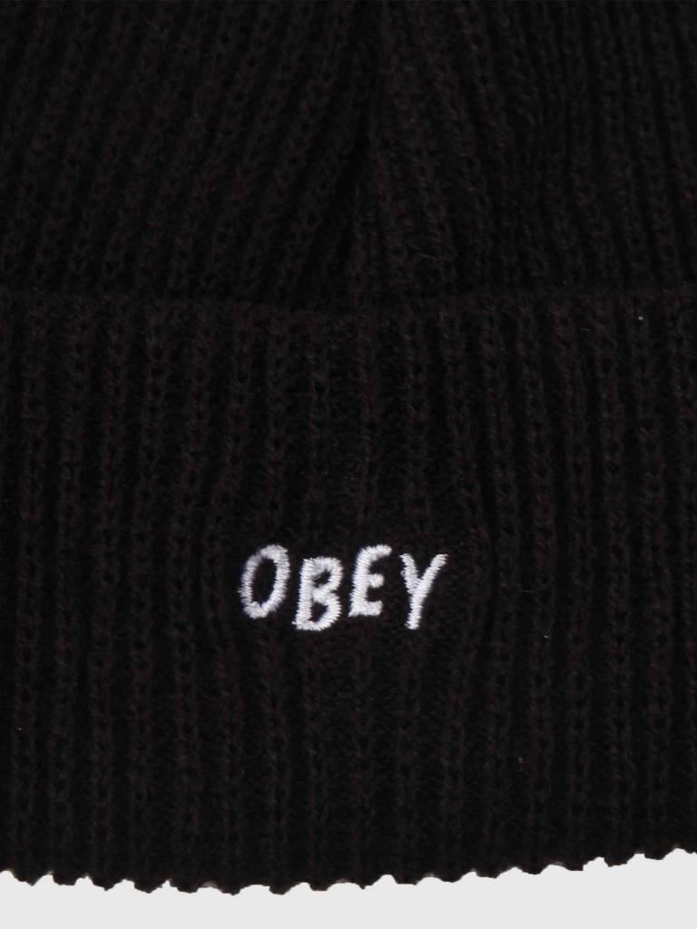 Obey Obey Hangman Beanie Black 100030102