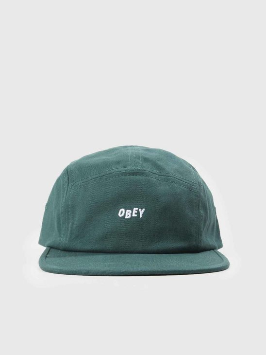 Obey Jumble Bar II 5 Panel Hat Pine 100490049