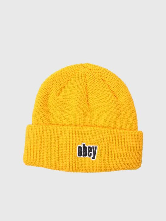 Obey Jungle Beanie Dusty Yellow 100030139