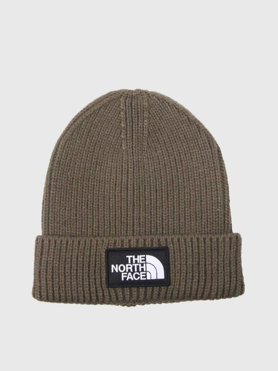 The North Face TNF Logo Box Cuff BE New Taupe Green