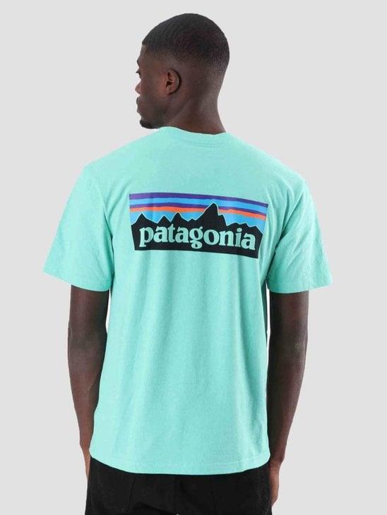Patagonia P-6 Logo Responsibili T-Shirt Vjosa Green 39174