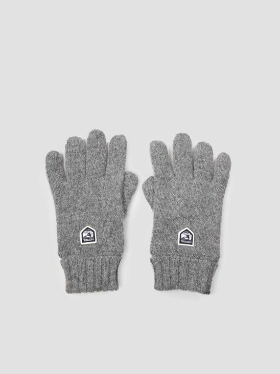 Hestra Hestra Basic Wool Glove Grey 63660