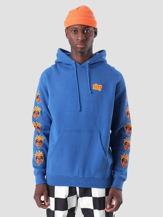 Obey Be Mine Hoodie Royal Blue 111731775