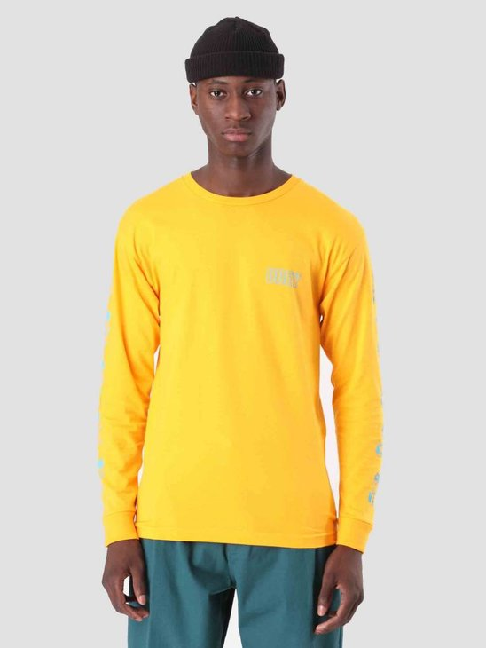 Obey Curious Kiddos Longsleeve Gold 164901821