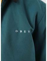 Obey Obey Dillinger Trucker Jacket Pine 121800345