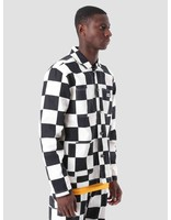 Obey Obey Hard Work Labor Jacket Checker 121800351