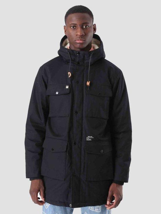Obey Heller Ii Jacket Black 121800287 Blk