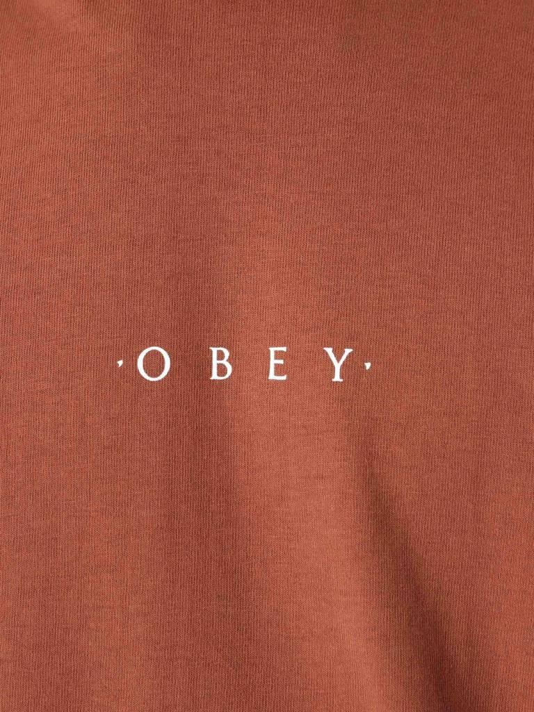 Obey Obey Novel Obey Longsleeve Light Brown 167161578